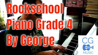 Rockschool Piano Grade 4 - By George. Composed by Nick Ingman.
