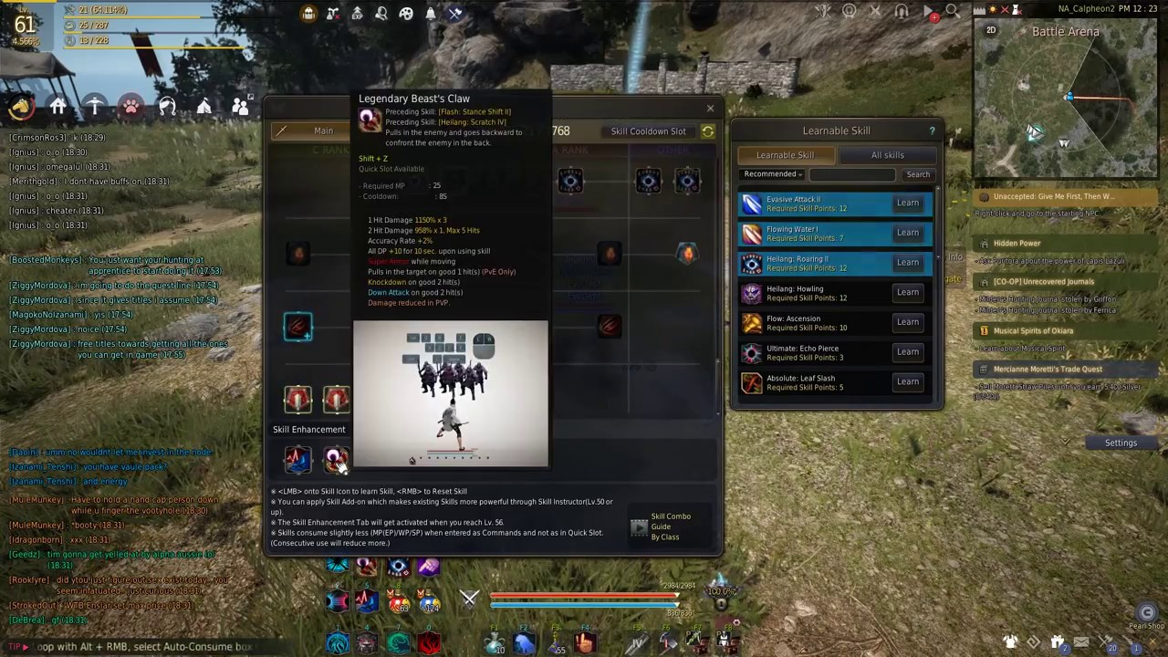 Tamer Combo Past CC Limit BDO -OLD