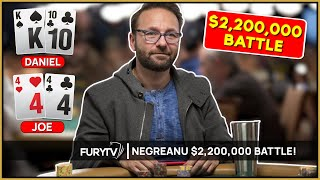 Daniel Negreanu Battles for $2,200,000 in WPT Final Table!