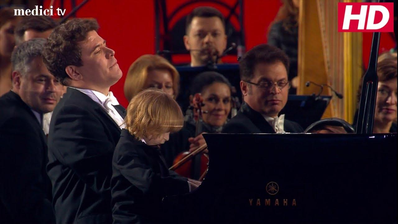 2018 World Cup Gala Concert Denis Matsuev And Yelisey Mysin Rachmaninov Italian Polka Youtube
