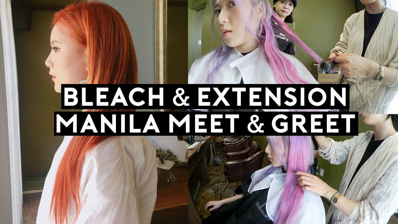 Korean Hair Salon Bleaching Hair Extensions Philippines Meet