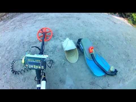 Подводный поиск на реке с quasar-arm часть1 - youtube.