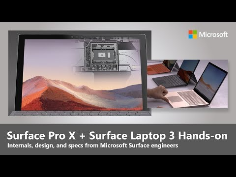 Surface Pro X and Surface Laptop 3 Hands-on