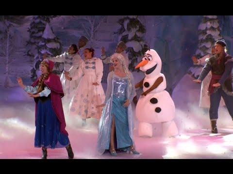 Frozen Sing-along, Disneyland Paris (Full Show Feat. Elsa, Anna, Kristoff And Olaf)