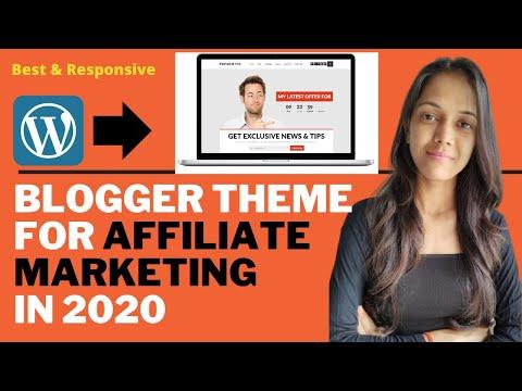 Best Wordpress Theme For Affiliate Marketing 2020| Best Wordpress Themes 2020 For Blog