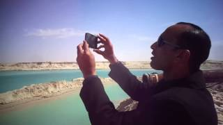 Hany Abdel-Rahman, editor of the Suez Canal is made and documents depicting the channel