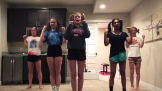 Starrkeisha cheerleading dance