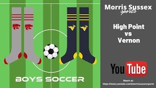 GOTW Vernon vs High Point Boys Soccer 10/22/2019