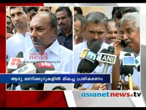 Kerala Election 2014: AK Antony on polling boothകേരളം പോളിങ്ങ് ബൂത്തിലേയ്ക്ക്