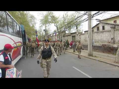 Victor Hugo en Parada Militar 2013 Travel Video