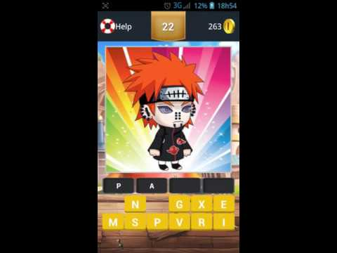 Ninja Konoha Quiz 20-30