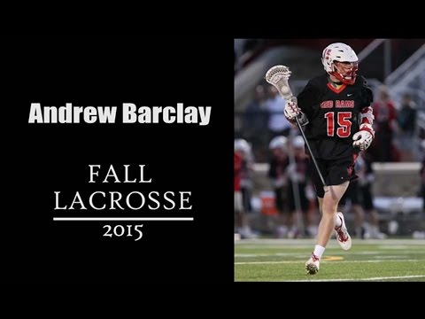 Andrew Barclay Fall Highlights 2015
