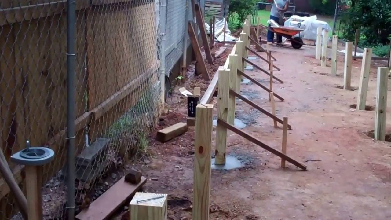 Construction Of Project Mega Shed Part 3 Setting The