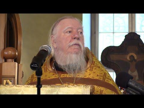 Проповедь на неделю Всех святых в земле Российской просиявших