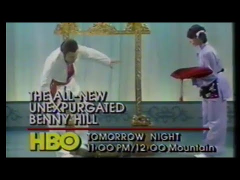 1984 HBO  and s. Benny Hill, Hall and Oates, Search and Destroy,