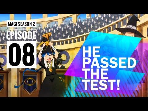 ALADDIN PASSED THE TEST!   Magi Season 2- Episode 8 🔥🌪
