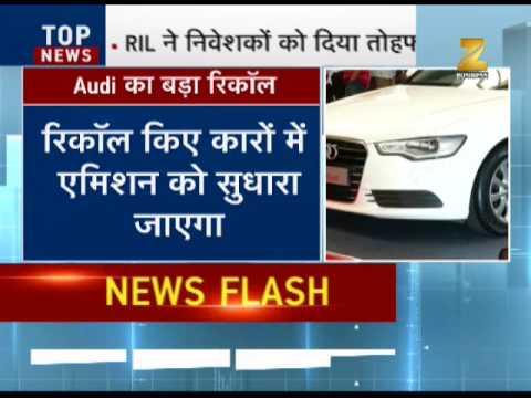 Audi recalls 8.5 lakh of its cars over harmful emission levels