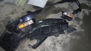 Ремонт бампера Honda. Bumper repair Honda(, 2012-05-07T23:52:19.000Z)