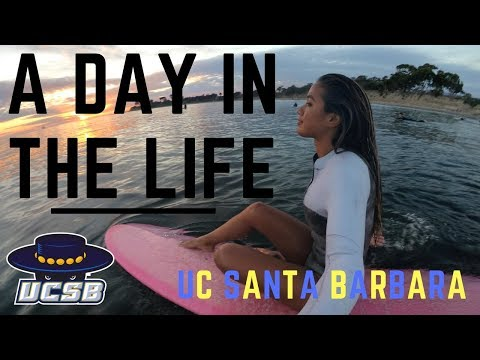 A Day in My Life at UC Santa Barbara (UCSB)