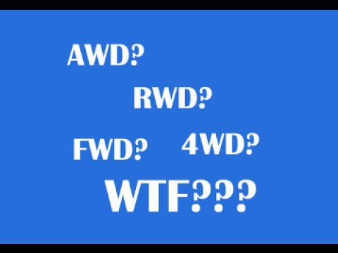 The Difference Between RWD, FWD, AWD, and 4WD?