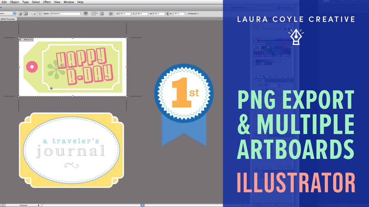 Illustrator Multiple Artboards and PNG Export