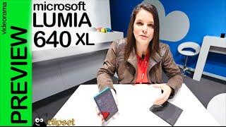 Microsoft Lumia 640 XL preview #MWC15 en español