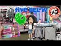 FIVE BELOW SHOP WITH MIMI!!! *NEW* $5 BACKPACKS•ROOM DECOR•BRAS•SKIRTS•SHORTS•SHOES•MAKEUP