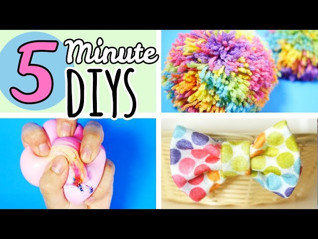 5 Minute Crafts To Do When Youre Bored   Easy DIYS