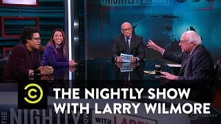 The Nightly Show - Panel - Bernie Sanders Makes His Case for 2016