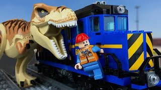 LEGO Jurassic World 2 🔴 Dinosaurs in the City  3. PL Movie