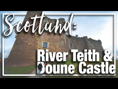 Scotland: Exploring River Teith and Outlander [Doune] Castle