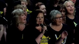 "Birkenhead, Livepool & Chester Rock Choir Peform ""Higher Love"" For The Nepal Fundraiser."