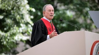Michael Bloomberg At Mit Commencement 2019
