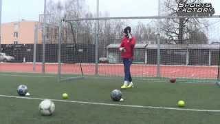 Goalkeeper Speed and Reaction training • Тренировка скорости и реакции для футбольных вратарей