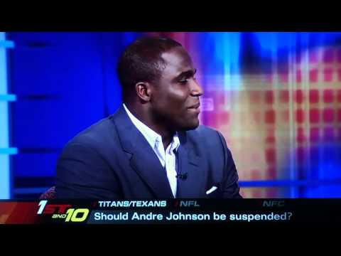 Andre Johnson Fight: ESPN First Take