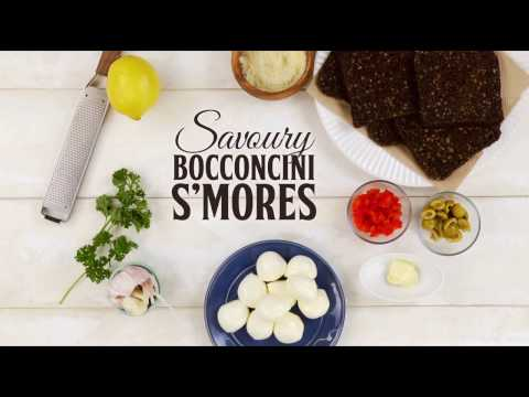 Savoury Bocconcini S'mores