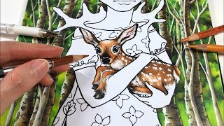 FAWN COLORING - The Far Forest: Part 2 | Inklings 3 Coloring Book