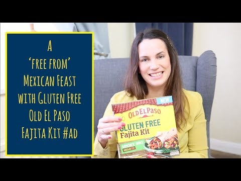 Our 'free from' Mexican Feast with Gluten Free Old El Paso Fajita Kit #ad