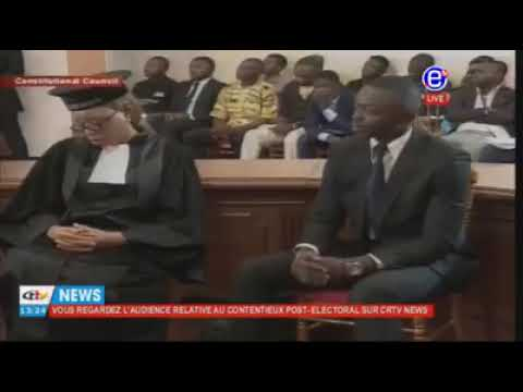 SDF BARRISTER SAMA SPIT FIRE AT THE CONSTITUTIONAL COUNCIL WITHOUT MINCING WORDS.  WATCH & LISTEN