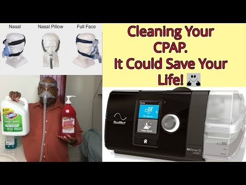 SLEEP APNEA IS DEADLY - HOW TO CLEAN YOUR RESMED AIRSENSE 10 CPAP MACHINE & EXTEND YOUR LIFE!