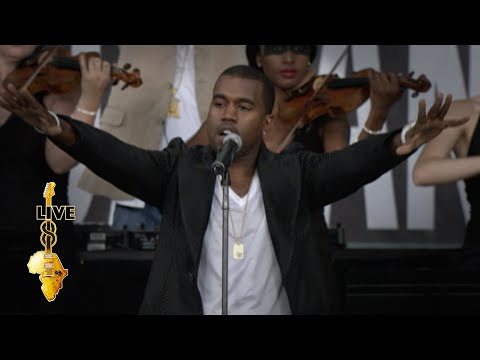 Kanye West - Diamonds From Sierra Leone (Live 8 2005)