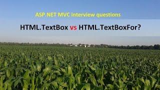 HTML.TextBox vs HTML.TextBoxFor?