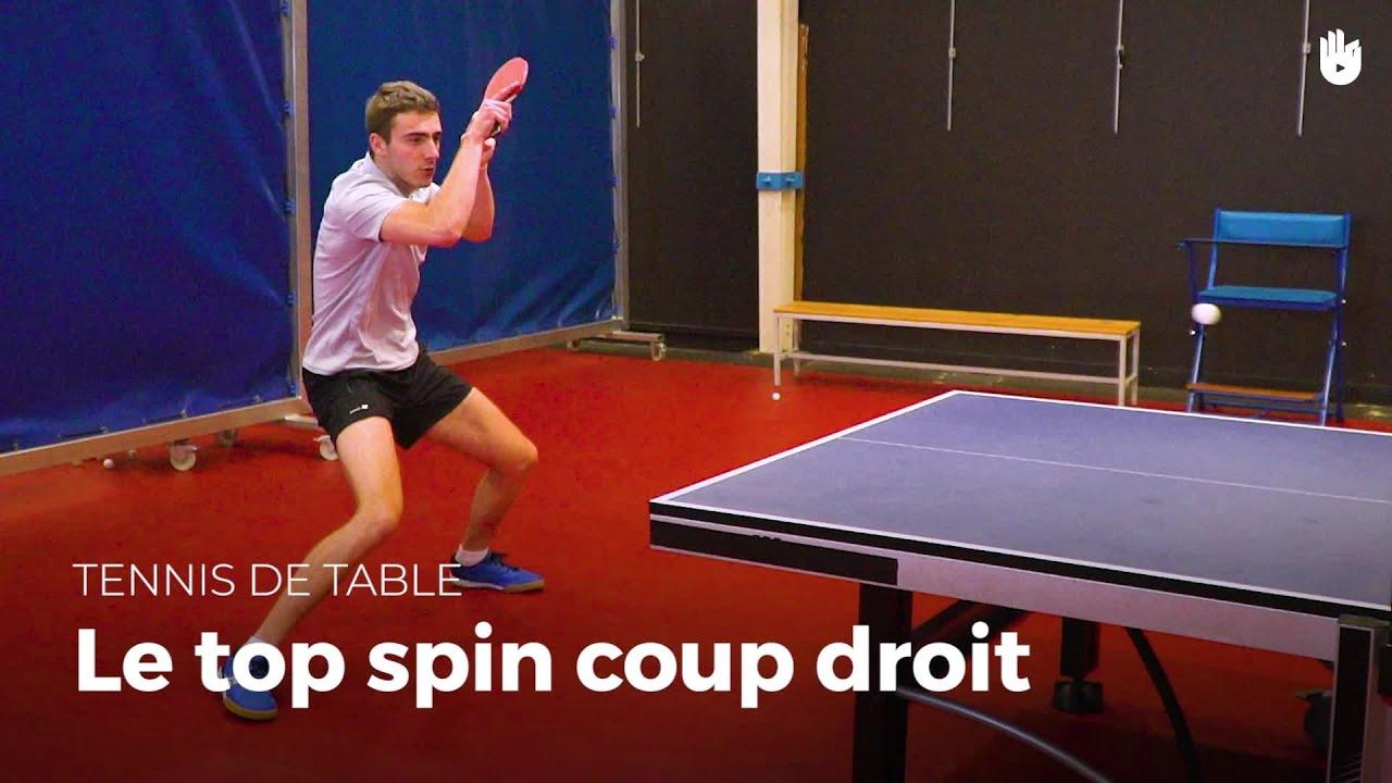 Comment faire un top coup droit avec jo seyfried tennis de table youtube - Comment faire un coup droit ...