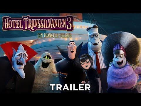 HOTEL TRANSSILVANIEN 3 - Trailer A - Ab 16.7.18 im Kino!