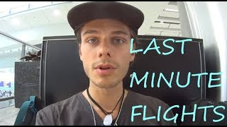 Can you buy last minute flight tickets at the airport to save you money? HD 4K