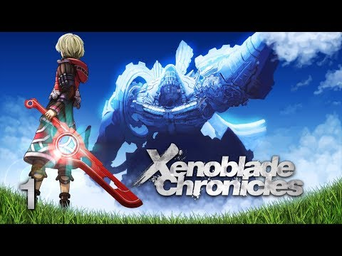 A NEW JOURNEY - Let's Play - Xenoblade Chronicles - 1 - Walkthrough Playthrough