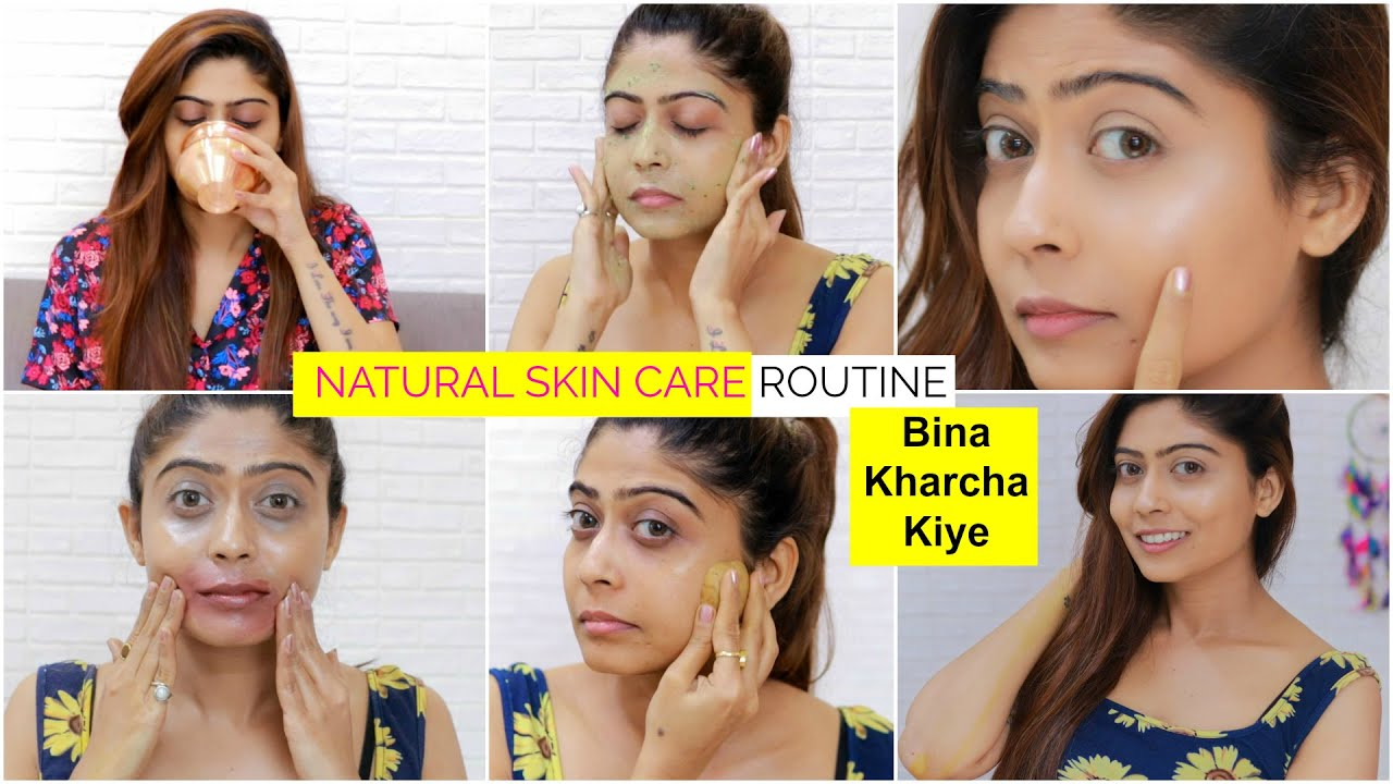 Download NATURAL SKIN CARE Routine from Day to Night   Remove Dark Spots, pigmentation, Pimple