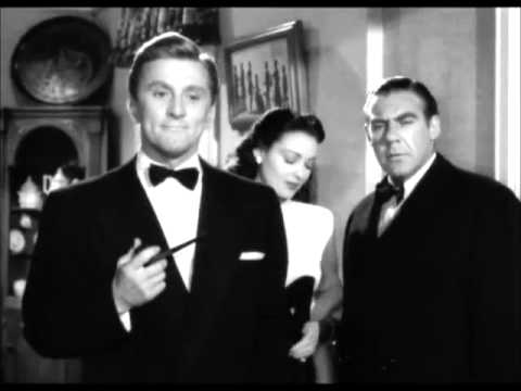 A Letter to Three Wives (1949) - Kirk Douglas does an anti-radio rant