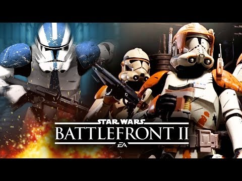 Star Wars Battlefront 2 News - Clone Trooper Customization! Death Troopers! New Weapons!