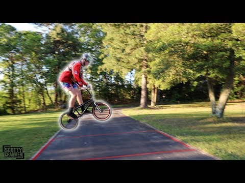 BACKYARD BMX RACE!